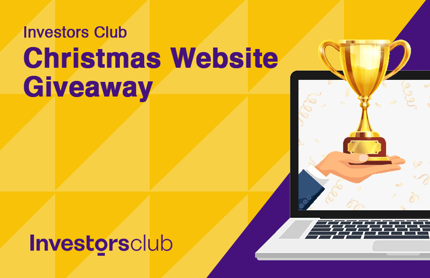 Investors Club Xmas Website Giveaway