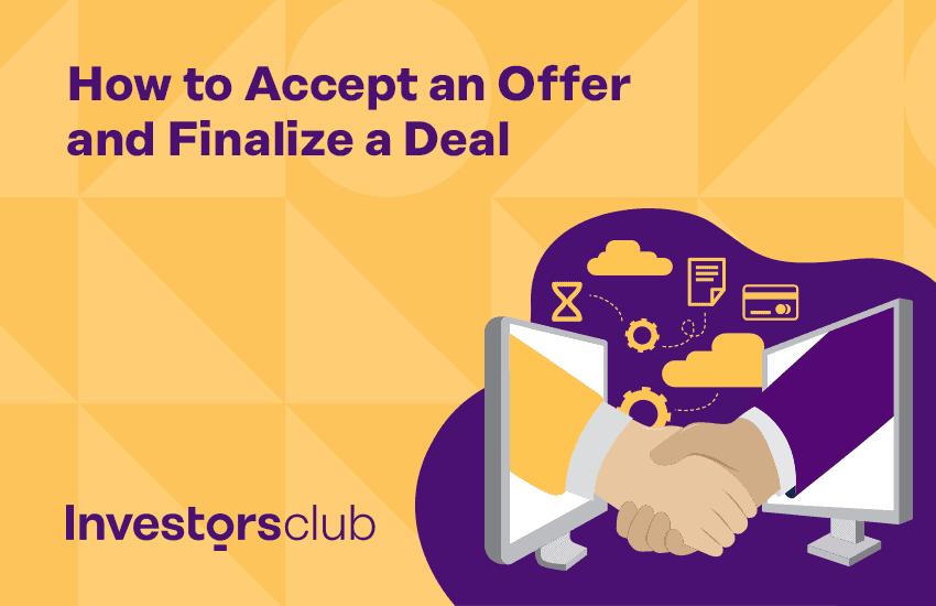 accept an offer