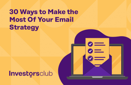30 Ways to Make the Most Of Your Email Strategy