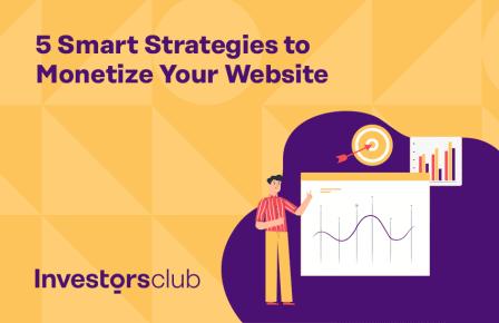 5 Smart Strategies to Monetize Your Website