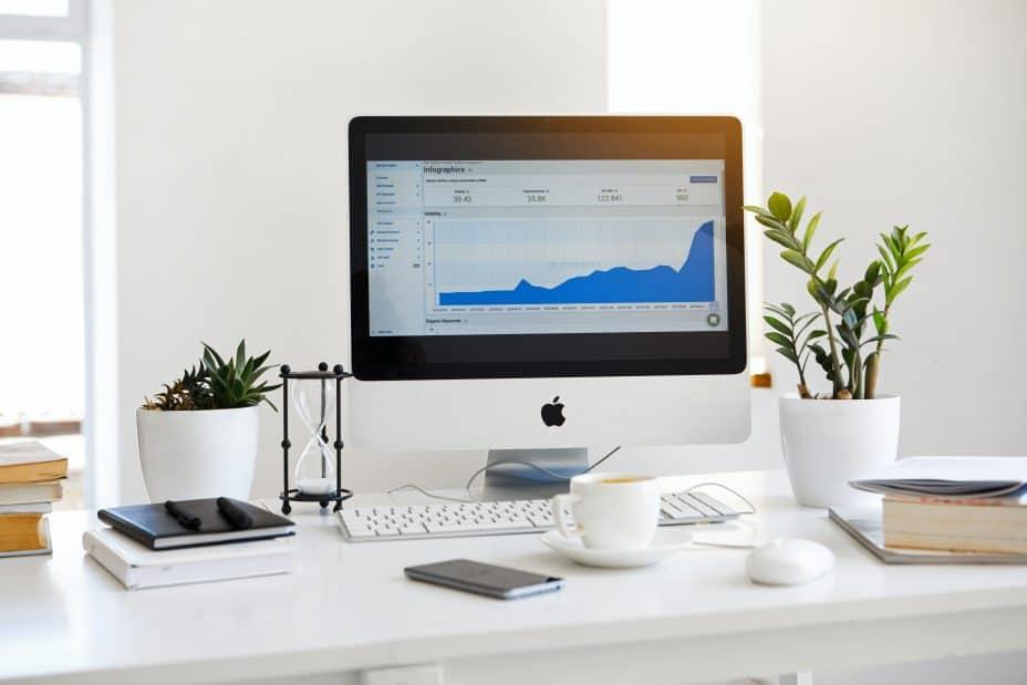 computer screen showing analytics data - smart strategies to monetize your website